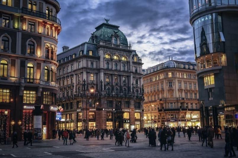 Wien Stephansplatz Med uni Wien