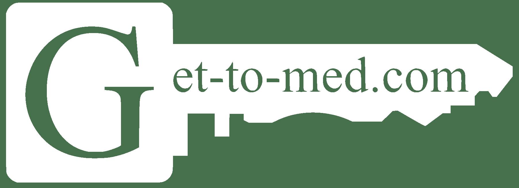 Logo von get-to-med auf der Registrierungsseite der Lernplattform