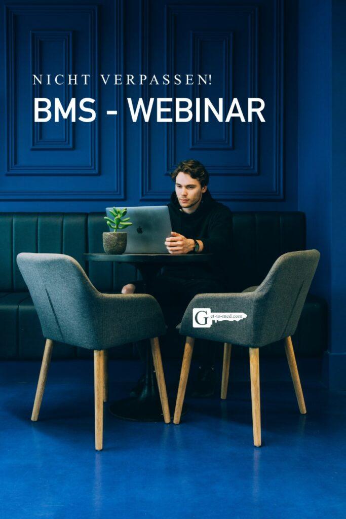 bms webinar get to med vorbereitung medizinstudium